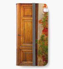Beautiful Door in Citta della Pieve iPhone Wallet/Case/Skin