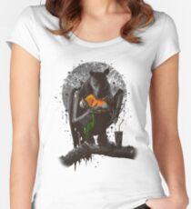 BAT EAT ROBIN Women's Fitted Scoop T-Shirt