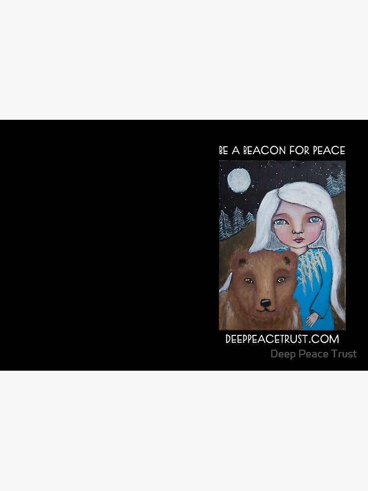 Be a Beacon for Peace - Artwork by Lulu's Heart Centered Healing by Deeppeacetrust