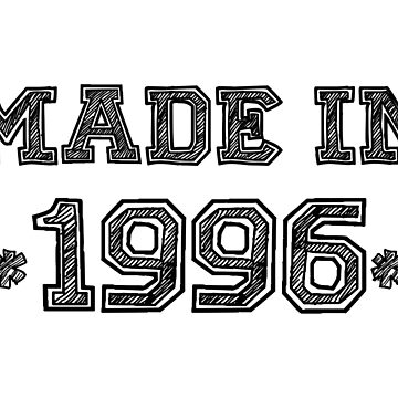 Made in 1996 by ampmade