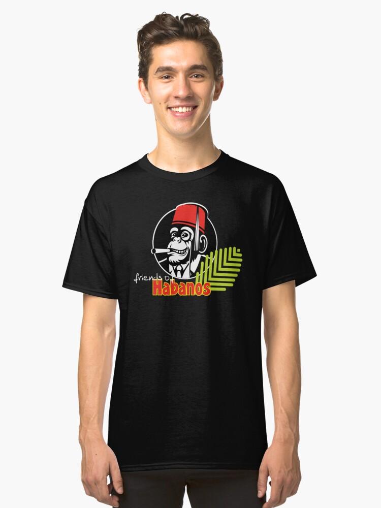 FOH Chimp Dark Colours Classic T-Shirt Front