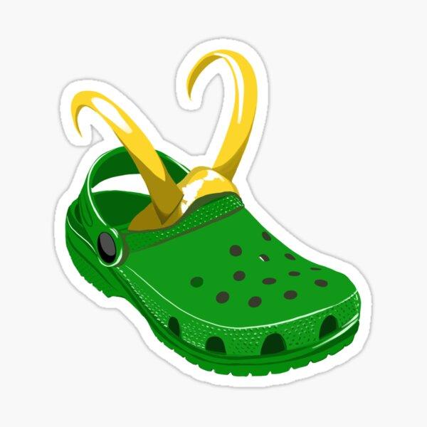 Croki - Crocs X Loki  Sticker