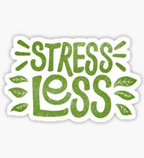 Stress Less Sticker