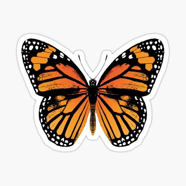 Monarch Butterfly | Vintage Butterflies |  Sticker
