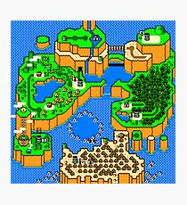 Super Mario World: Dinosaur Land Photographic Print