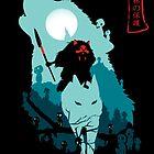 Princess Mononoke by rajurony212