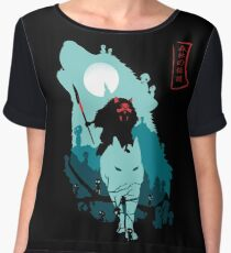 Princess Mononoke Chiffon Top