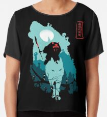 Princess Mononoke Chiffon Top