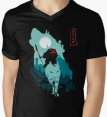 Princess Mononoke Men's V-Neck T-Shirt