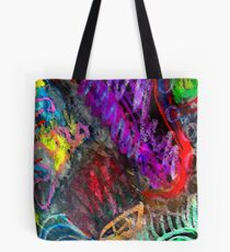 Chaos Colorized Tote Bag