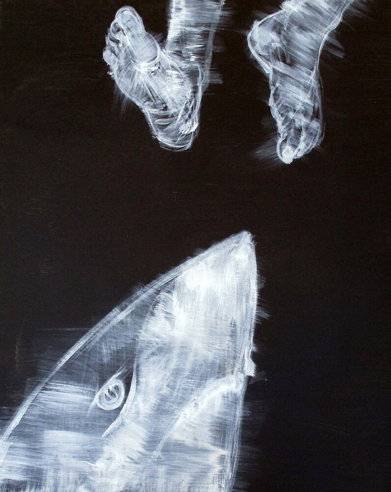 SHARK AND FEET by lautir