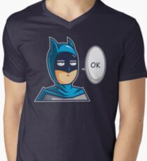 One Punch Vigilante Mens V-Neck T-Shirt