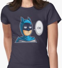 One Punch Vigilante Womens Fitted T-Shirt