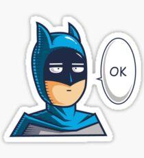 One Punch Vigilante Sticker