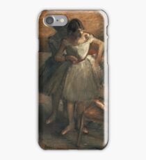 Edgar Degas - Dancers 3 iPhone Case/Skin