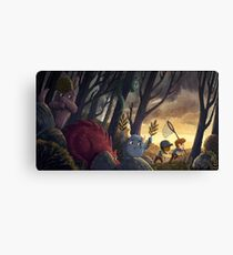 How To Catch A Monster Canvas Print