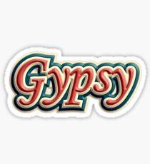 colorful gypsy Sticker