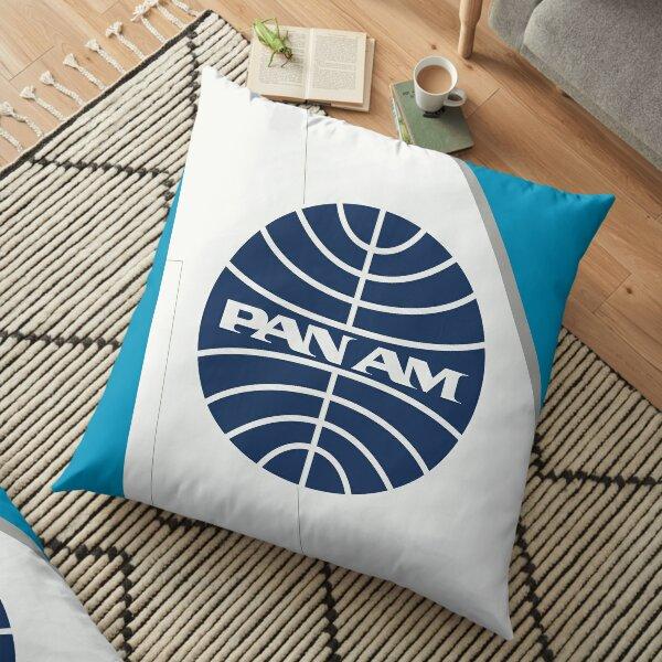 Pan Am | Pan American Airways | Tail Fin Floor Pillow