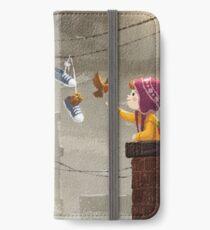 Ein Familienessen iPhone Flip-Case/Hülle/Klebefolie