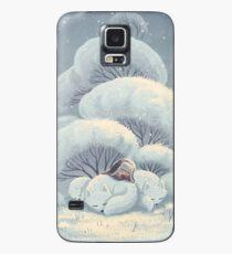 Arktische Fox Huddle Hülle & Klebefolie für Samsung Galaxy