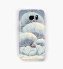 Arctic Fox Huddle Samsung Galaxy Case/Skin