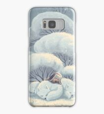 Arctic Fox Huddle Samsung Galaxy Case/Skin