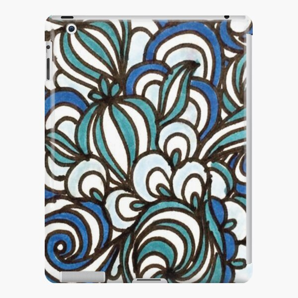 Blue iPad Snap Case
