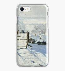 Claude Monet - The Magpie  iPhone Case/Skin