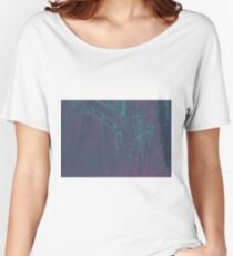 Colorful watercolor painting with classical building detail Women's Relaxed Fit T-Shirt