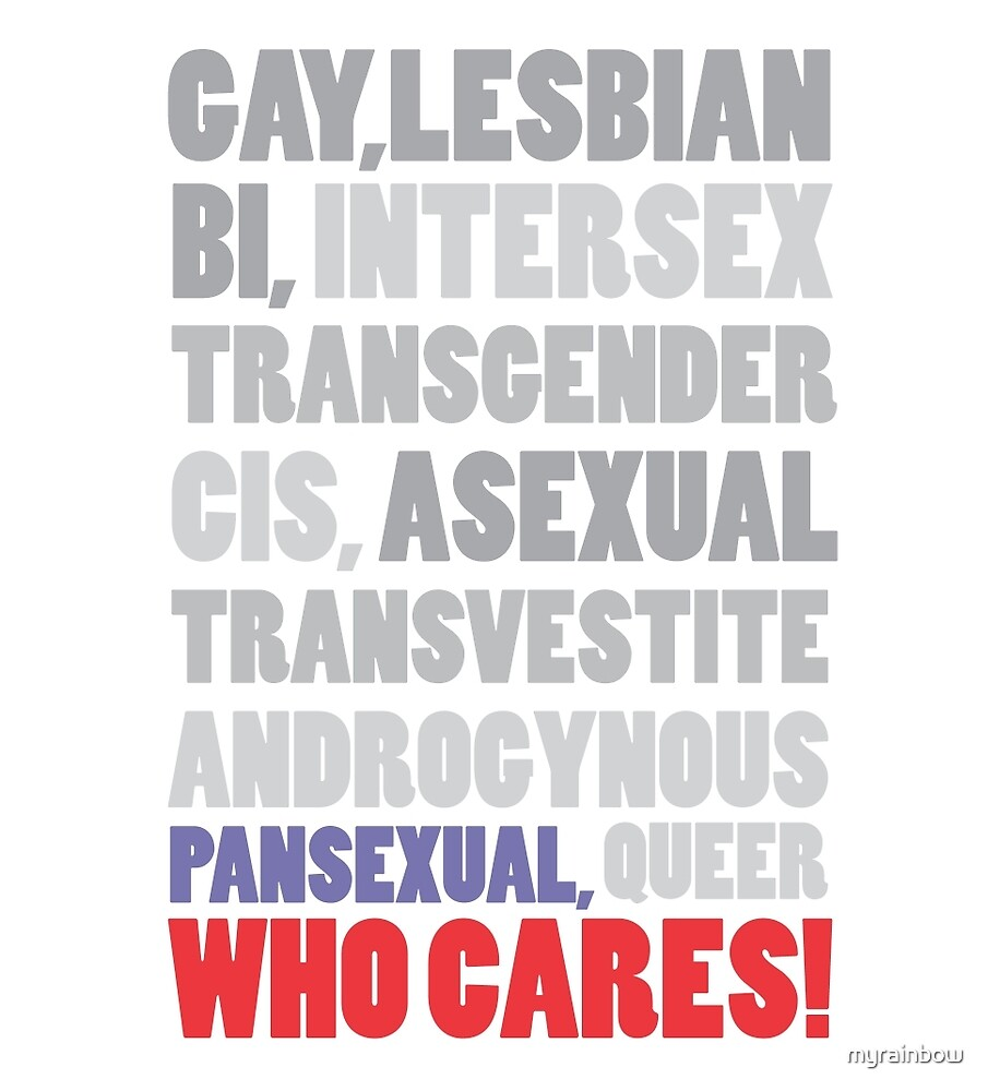 Gender Inclusion Campaign: Pansexual by myrainbow