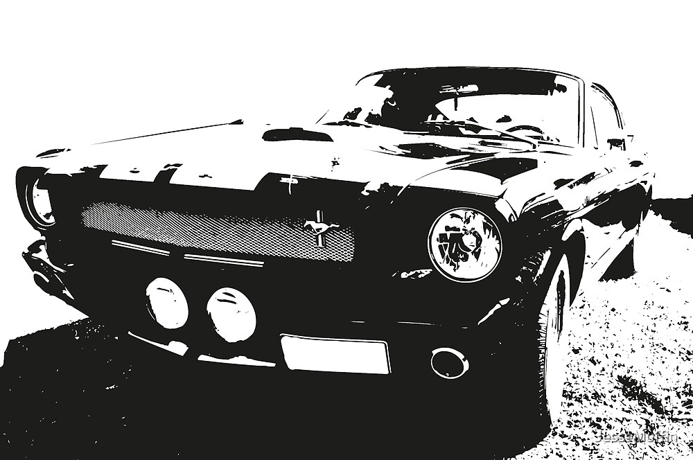 FORD MUSTANG GT350H SHELBY by JesseMuffin