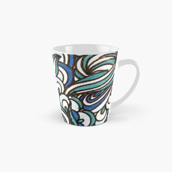 Blue Tall Mug