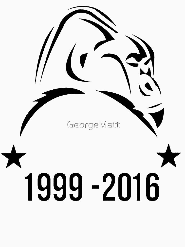 RIP Harambe by GeorgeMatt