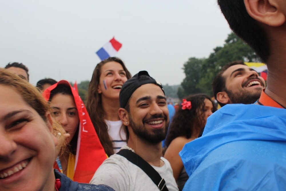 World Youth Day Smiles by jdbjtr