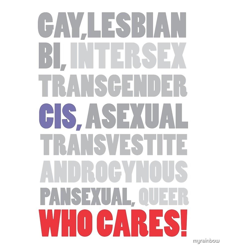 Gender Inclusion Campaign: CSI by myrainbow