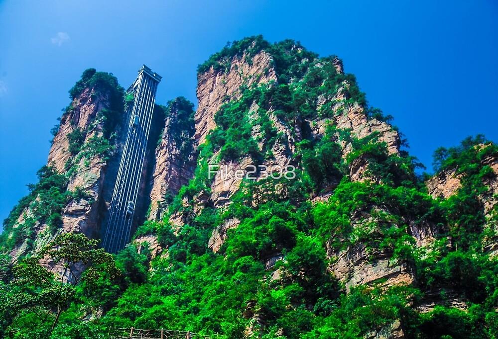 Zhangjiajie, China by Fike2308