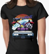 New Wave Women's Fitted T-Shirt