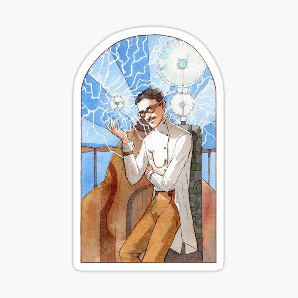 Nikola Tesla - The Magician Sticker