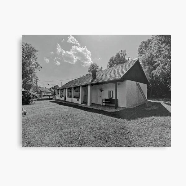 village house Metal Print