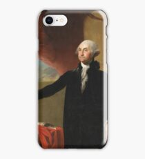 Gilbert Stuart - George Washington iPhone Case/Skin