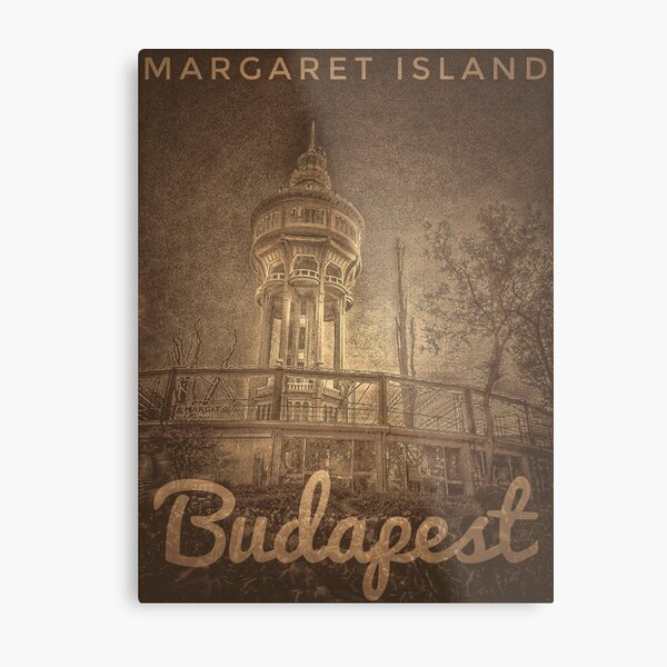 Budapest Metal Print