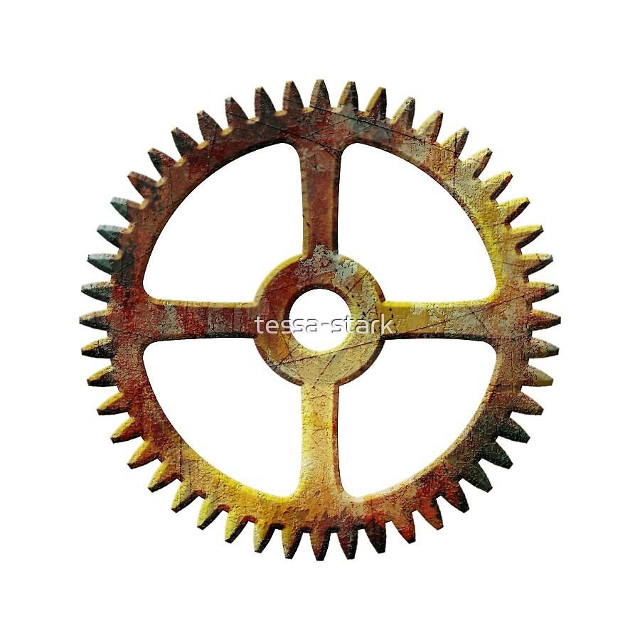 Yet Another Steampunk Gear by tessa-stark