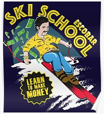 Escobar Skischule Poster