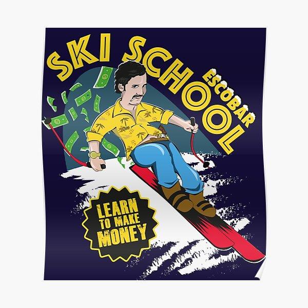 École de ski Escobar Poster