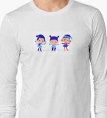 Collection of cute winter children T-Shirt