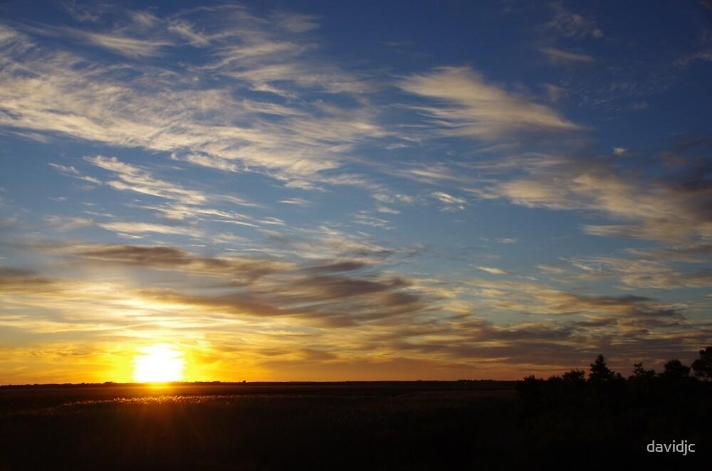 Sunset at Bool Lagoon by davidjc
