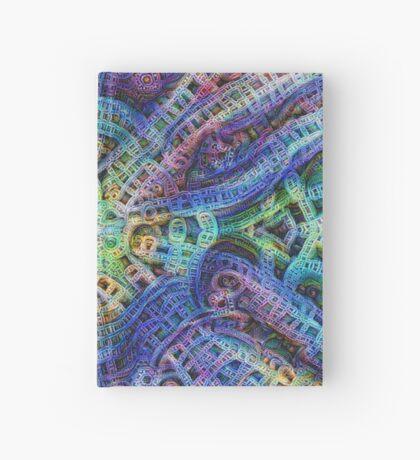 #DeepDream Temple Hardcover Journal