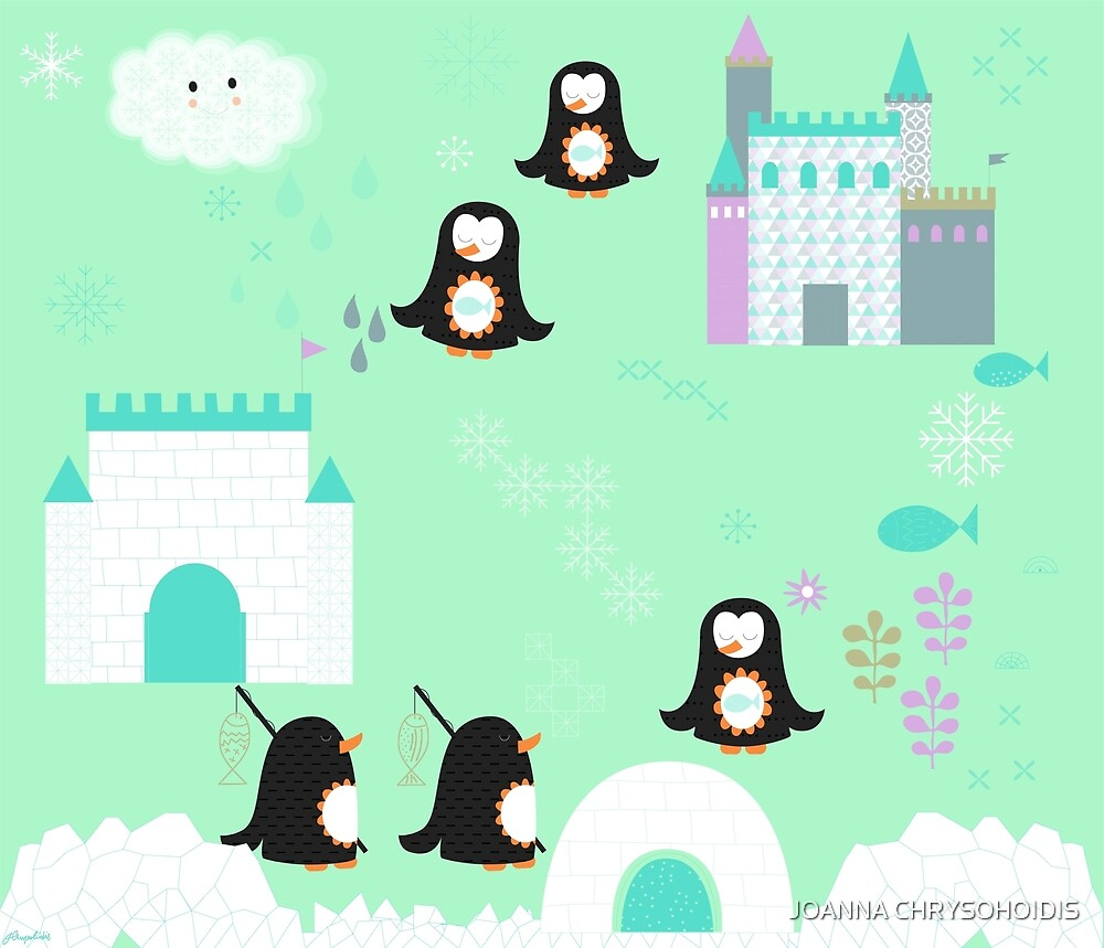 Penguins by JOANNA CHRYSOHOIDIS