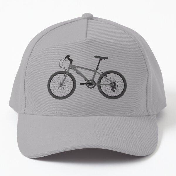 Bicycle (Greyscale) Baseball Cap
