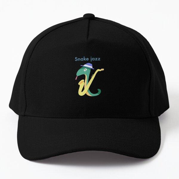 Snake jazz Baseball Cap